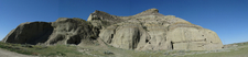 Panorama Of Castle Butte