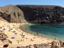 Pala De Papagayo. Lanzarote.