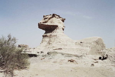 The Sphynx, Wind-Eroded Rock Formation