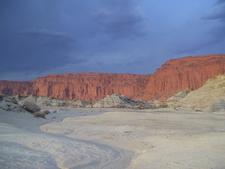Las Coloradas Cliff