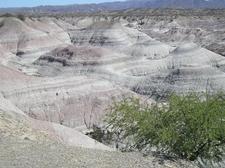 Water-Eroded Badlands