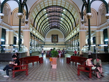 Saigon Post Office Inside