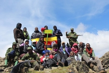Summitting At The Highest Peak - Wagagai 4,321m ASL On Mount Elgon In Uganda