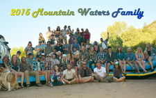 2015 Mountain Waters Rafting Family Portrait Durango Co