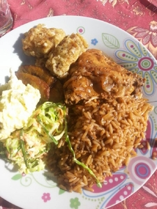 Bahamian Food On Display