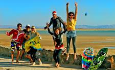 Happy New Year With Happy Kite
