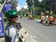 Stefan On Kintamani To Ubud - Intermediate Mtb Tour