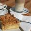 Coffee Cake Cappuccino Latte
