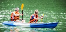 Kayaking Lan Ha Bay Cat Ba Island Travel