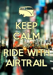 Keep Calm Ride With Airtrail