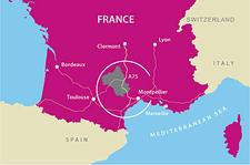 Map Aveyron