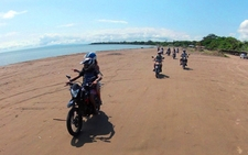 Moto Trip On Lake Nicaragua Beach