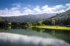 Sete Cidades: Scenery Between The Twin Lakes