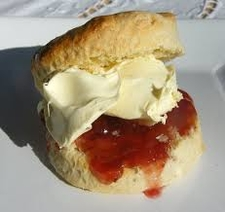 Scone Jam And Cream