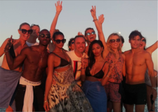 Nicole Sherzinger, Alesha Dixon And Friends Party With Boats Ibiza
