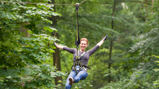 Flying Fox Woman Zip Line