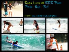 Surfing Lesson Aurelie S