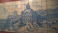 Tile Museum Lisbon Panel
