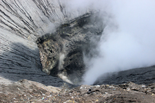Bubbling Crater Of Mount Bromo