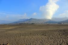 Mount Bromo Seen From Caldera Floor