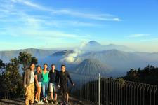 Group Tour With Dutch Tourists At Bromo National Park