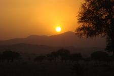 Kidepo Sun Set