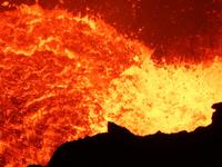 Lago Lava Volcan Masaya