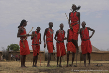 Maasai Traditional Dance In Masai Mara