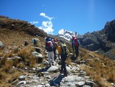 Laguna Churup 4450m - Cordillera Blanca