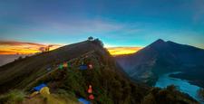 Plawangan Senaru Crater Rim 2641 Meters Mount Rinjani