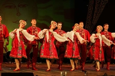 Folklore Show At Nikolaevsky Palace St Petersburg Russia