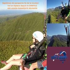 Paragliding Tandem Flight On South Of Reunion Island Dimitile