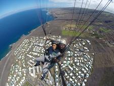 Paragliding Flight With Air Lagon Parapente Reunion Island