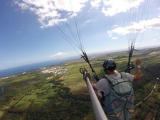 Picture Of Tandem Paragliding Flight In Reunion Island With Air Lagon Parapente