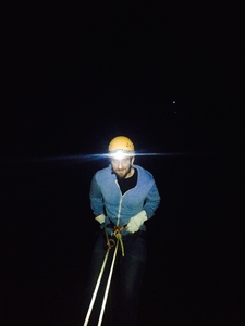 Abseiling In The Dark ;)