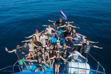 Similan Diving Safaris Guests At The Bow