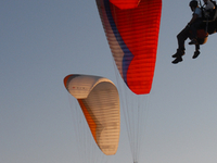 Twin Paragliding Evening Flight