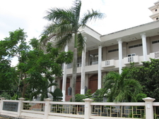 Side View Of Cần Thơ Museum