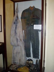 John McCain's Flight Suit And Parachute On Display