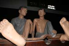 Museum Reconstruction Of French Era Prisoners In Hỏa Lò