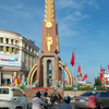 The Monument At The Downtown Cà Mau City