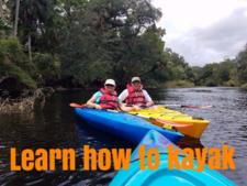 Learn How To Kayak Orlando