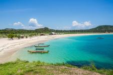 Stunning Tanjung Aan Beach Lombok