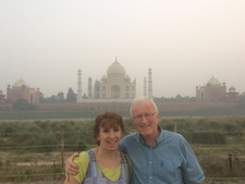 Couple Taj Mahal Tour