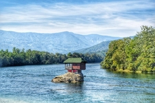 House In The Middle Of The Drina River