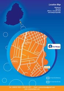 Case Nautique Location Map