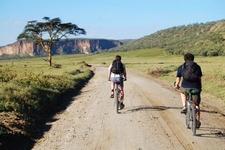 Cycling In Kenya Hells Gate National Park