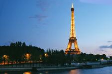 Eiffel Tower At Dusk 1500087