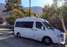 Santorini Private Van Minivan Taxi Ride