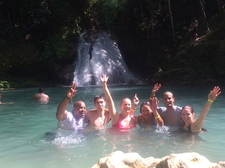 Blue Hole Visitors Aug 2015